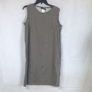 Max Mara Weekend Sleeveless Dress Brown 12